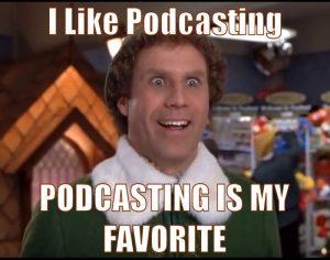 Christmas Podcasting
